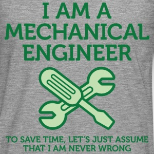 I Am A Mechanical Engineer 2 (dd)++ T-skjorter - Premium langermet T-skjorte for menn