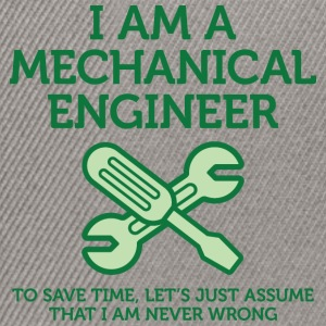I Am A Mechanical Engineer 2 (dd)++ T-skjorter - Snapback-caps