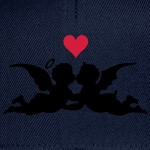 good and evil love heart Camisetas - Gorra Snapback