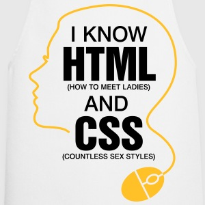 I Know Html 3 (2c)++ T-Shirts - Cooking Apron