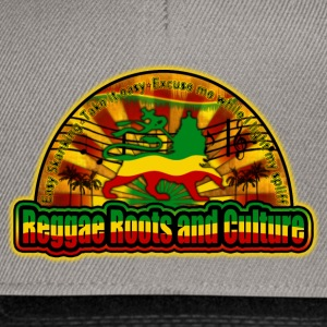 reggae roots and culture easy skanking T-shirts - Snapback cap