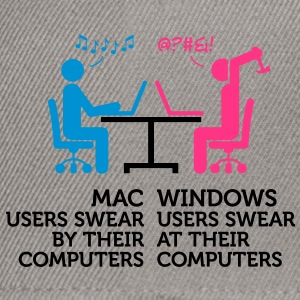 Mac Users 1 (3c)++ T-shirts - Snapback cap