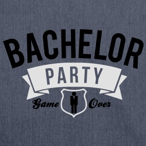 bachelor party T-Shirts - Shoulder Bag made from recycled material