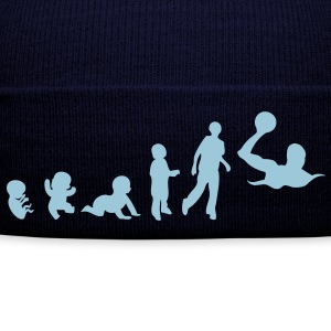 evolution waterpolo foetus human humain  Tee shirts - Bonnet d'hiver