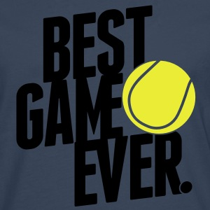 tennis - best game ever T-Shirts - Men's Premium Longsleeve Shirt
