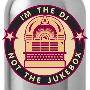 I'm the DJ - not jukebox (4, DDP) T-Shirts - Water Bottle