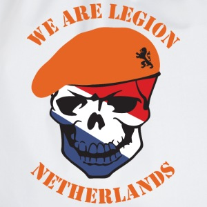 Netherlands we Are Legion T-shirts - Gymtas