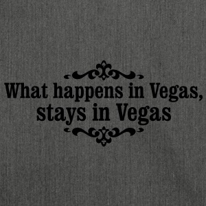 what happens in Vegas... Tee shirts - Sac bandoulière 100 % recyclé