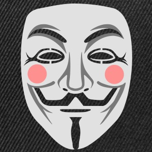 Anonymous / masque de Guy Fawkes 3clr Tee shirts - Casquette snapback