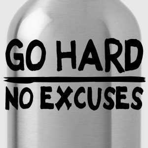 Go Hard, No Excuses Tee shirts - Gourde