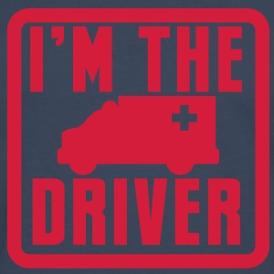 ambulance Im the ambo driver Hospital vehicle  T-Shirts - Men's Premium Longsleeve Shirt