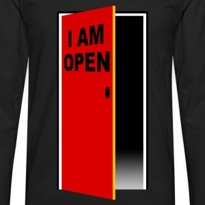 i am open Tee shirts - T-shirt manches longues Premium Homme