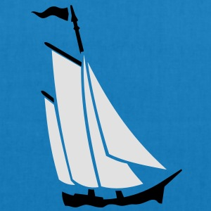 Segelboot / sailboat (2c) T-Shirts - EarthPositive Tote Bag