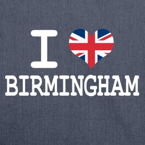 i love Birmingham T-Shirts - Shoulder Bag made from recycled material