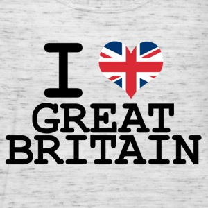 i love Great Britain T-Shirts - Women's Tank Top by Bella