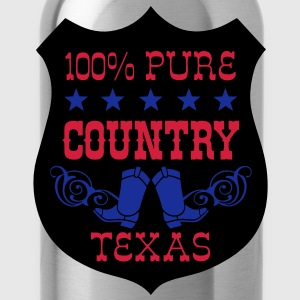 100% pure country texas  Tee shirts - Gourde