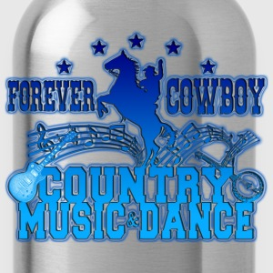 forever cowboy country music & dance Tee shirts - Gourde
