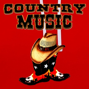 country music Tee shirts - Sweat-shirt contraste