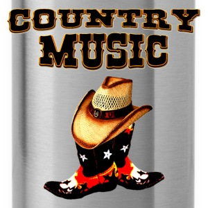 country music T-shirts - Vattenflaska