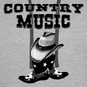 country music Tee shirts - Sweat-shirt à capuche Premium pour hommes