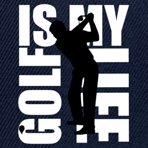 golf is my life T-shirts - Snapback cap