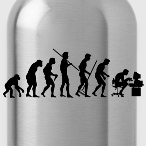 Evolution of Society - Trinkflasche