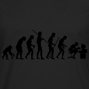 Evolution of Society - Männer Premium Langarmshirt