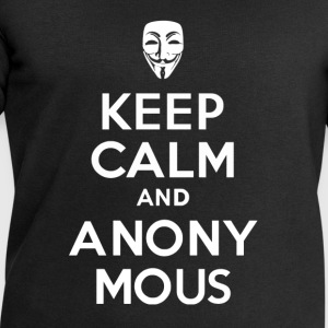 KEEP CALm and ANONYMOUS - Men's Sweatshirt by Stanley & Stella