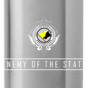 Enemy of the State - AnCap T-Shirt - Trinkflasche