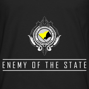 Enemy of the State - AnCap T-Shirt - Männer Premium Langarmshirt