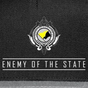 Enemy of the State - AnCap T-Shirt - Snapback Cap