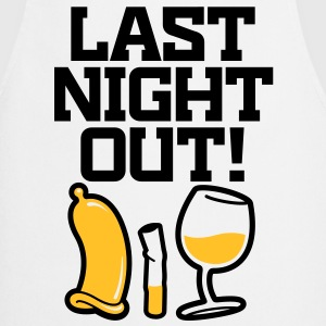 Last Night Out 2 (2c)++ T-shirts - Keukenschort