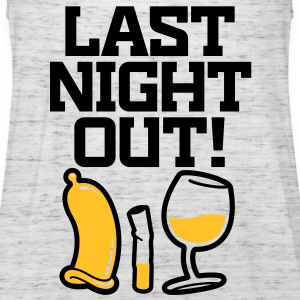 Last Night Out 2 (2c)++ Camisetas - Camiseta de tirantes mujer, de Bella