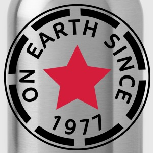 on earth since 1977 (nl) T-shirts - Drinkfles