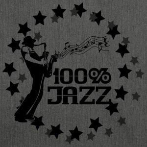 100% jazz T-Shirts - Shoulder Bag made from recycled material