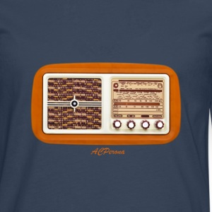 Vintage Radio Tee shirts - T-shirt manches longues Premium Homme