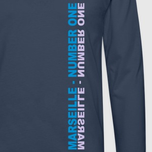 Marseille Number One - T-shirt manches longues Premium Homme