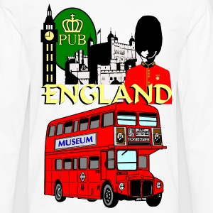 England London Big Ben Queens Guards london tower - Men's Premium Longsleeve Shirt