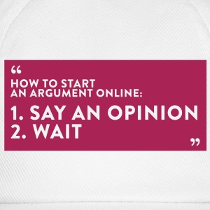 Quote Online Argument (1c)++2012 T-shirts - Baseballcap