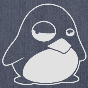 TUX Pinguin, LINUX T-Shirts - Shoulder Bag made from recycled material