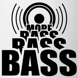 More Bass Lautsprecher Bassgitarre Musik T-Shirts - Tasse