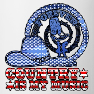 forever country is my music Tee shirts - Tasse