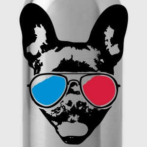 Cool Bulldog - 3D T-shirts - Drinkfles