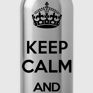 KEEP CALM AND (old style) T-Shirts - Water Bottle