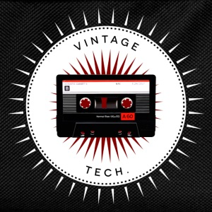 Vintage icons 06 - Audio cassette T-Shirts - Kids' Backpack