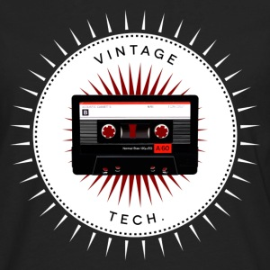 Vintage icons 06 - Audio cassette T-Shirts - Men's Premium Longsleeve Shirt