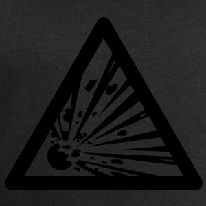 Hazard Symbol - Explosives T-Shirts - Men's Sweatshirt by Stanley & Stella