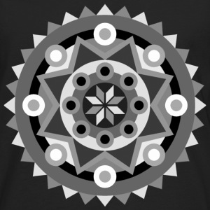 mandala black T-Shirts - Men's Premium Longsleeve Shirt