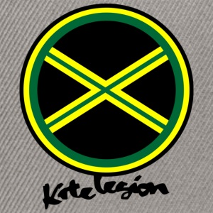 kl_vec_3c_png_jam_green_black_yellow T-Shirts - Snapback cap