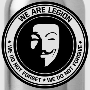 Anonymous - we are legion - Trinkflasche